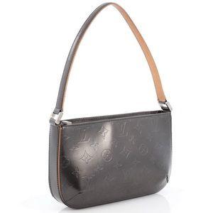 Louis Vuitton Mat Fowler Handbag Monogram Vernis